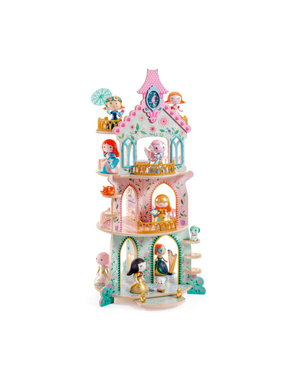 Djeco Arty Toys prinsessen toren