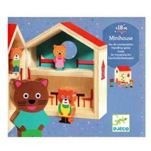 Djeco Handling game - Minihouse DJ06385