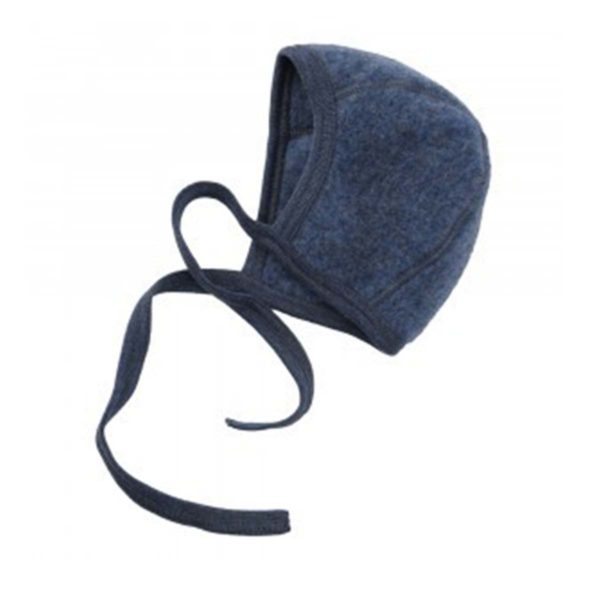Engel Baby Bonnet Blue Melange