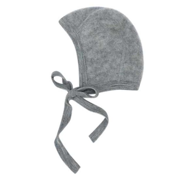 Engel Baby Bonnet Grey Melange