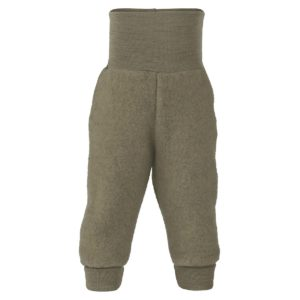 Engel Baby pants, long, with waistband walnut