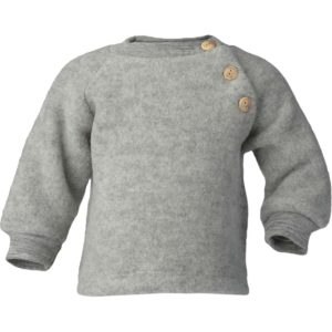 glan sweater, with wooden