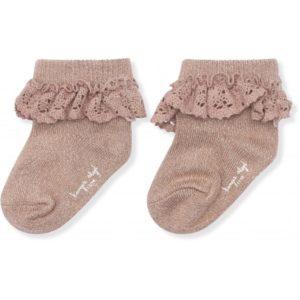 Wijs west Konges Sløjd Konges Sløjd Lace Socks Lurex 5712982513571 KongesNov20 Kleding & Accessoires Sokken & Maillots
