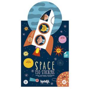 Londji space stickers set
