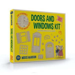 Muizenhuis Ramen en deuren kit