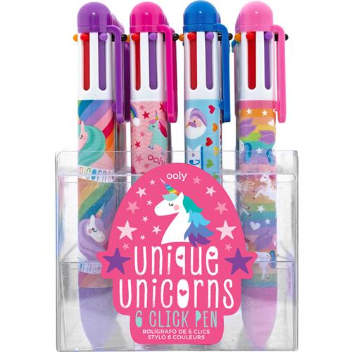 Ooly - 6-kleurenpen 'Unicorn'
