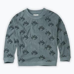 Wijs west Sproet & Sprout Sproet & Sprout Sweatshirt Happy Hands  1138187045596 Sproetaw20-1 Kleding & Accessoires Sweaters & Truien