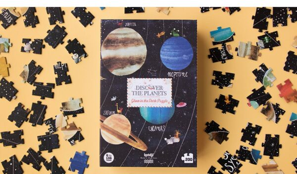 Londji Puzzel Glow in The Dark Discover the Planets 200 pcs