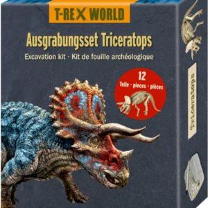 Wijs west T-Rex World T-Rex World Uitgraafset Triceratops 4029753144997 TrexWorld Speelgoed & Spellen Experimenteren