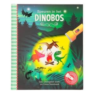 Zaklampboek Dinobos