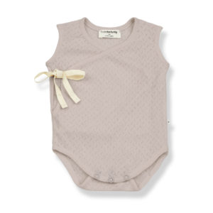Wijs west 1+ in the Family 1+ In The Family Amelie Nude 8448211001553 SS21 1+Family Kleding & Accessoires Baby Rompers
