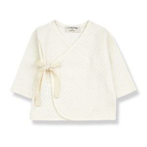 Wijs west 1+ in the Family 1+ In The Family Annie Ecru 8448211001300 SS21 1+Family Kleding & Accessoires Baby