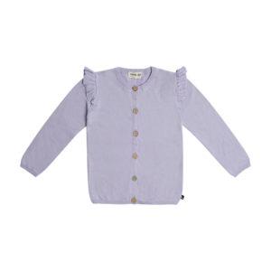 Wijs west CarlijnQ CarlijnQ Knit - Ruffled Cardigan 8720289670559 SS21 CarlijnQ Kleding & Accessoires Vesten