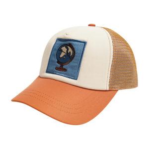 Wijs west CarlijnQ CarlijnQ Globe - Trucker Cap 8720289670979 SS21 CarlijnQ Kleding & Accessoires Accessoires Hoedjes & Petjes