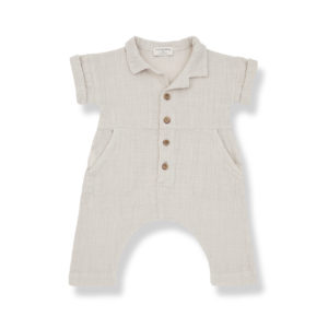 Wijs west 1+ in the Family 1+ In The Family Carlota Beige 8448211021421 SS21 1+Family Kleding & Accessoires Baby Pakjes