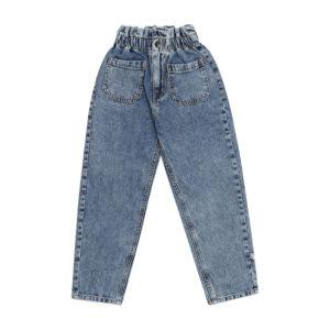 Wijs west CarlijnQ CarlijnQ Denim - High Waist Pants 8720289688806 SS21 CarlijnQ Kleding & Accessoires Broeken