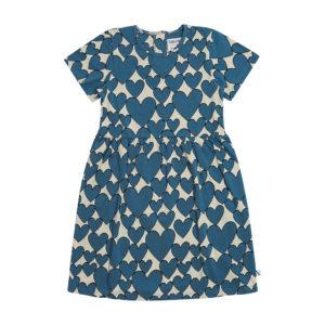 Wijs west CarlijnQ CarlijnQ Hearts - Dress Short Sleeves 8720289686413 SS21 CarlijnQ Kleding & Accessoires Rokjes & Jurkjes