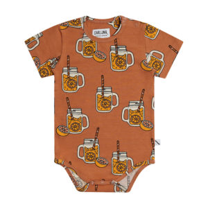 Wijs west CarlijnQ CarlijnQ Lemonade - Bodysuit Short Sleeve 8720289682750 SS21 CarlijnQ Kleding & Accessoires Baby Rompers