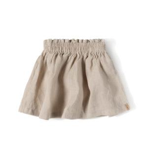 Wijs west Nixnut Nixnut Lin Skirt Sand 8720053284180 SS21Nixnut Kleding & Accessoires Rokjes & Jurkjes