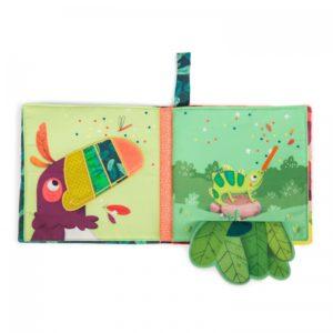 Moulin Roty Textiel activiteitenboekje Dans la jungle 668084