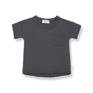 Wijs west 1+ in the Family 1+ In The Family Nani Anthracite 8448211008316 SS21 1+Family Kleding & Accessoires Baby Shirts