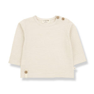 Wijs west 1+ in the Family 1+ In The Family Odon Beige 8448211004790 SS21 1+Family Kleding & Accessoires Baby Shirts