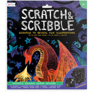 Ooly - Scratch & Scribble 'Fantastic Dragons' 02161-026