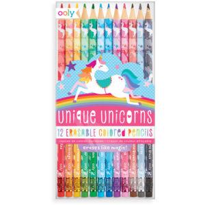 Ooly - Unique Unicorns Erasable Colored Pencils 02128-151 Wijs West