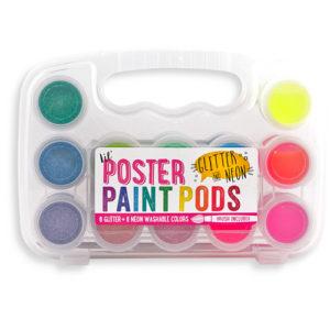 Ooly - Verfsetje met penseel Neon en glitter 02126-003