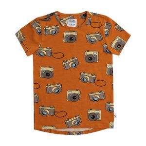 Wijs west CarlijnQ CarlijnQ Photo Camera - Short Sleeve Dropback 8720289680619 SS21 CarlijnQ Kleding & Accessoires Shirts