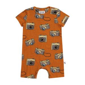 Wijs west CarlijnQ CarlijnQ Photo Camera - Jumpsuit Short Sleeves/Legs 8720289680657 SS21 CarlijnQ Kleding & Accessoires Baby Rompers