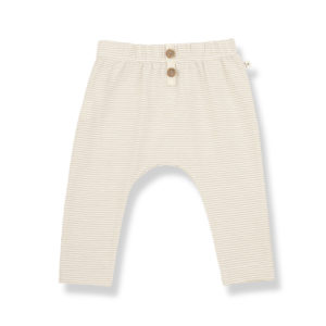 Wijs west 1+ in the Family 1+ In The Family Pia Beige 8448211005889 SS21 1+Family Kleding & Accessoires Baby Broekjes