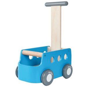 Plan Toys Loopwagen Bus Blauw