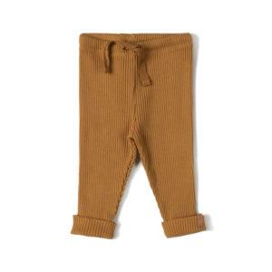 Wijs west Nixnut Nixnut Rib Legging Caramel 8720053285446 SS21Nixnut Kleding & Accessoires Broeken Leggings