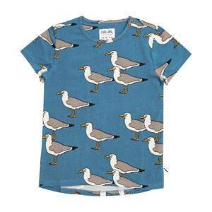 Wijs west CarlijnQ CarlijnQ Seagull - Short Sleeve Dropback 8720289681692 SS21 CarlijnQ Kleding & Accessoires Shirts