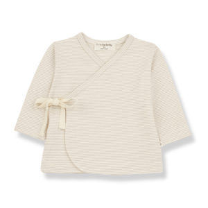 Wijs west 1+ in the Family 1+ In The Family Sol Beige 8448211003359 SS21 1+Family Kleding & Accessoires Baby Shirts