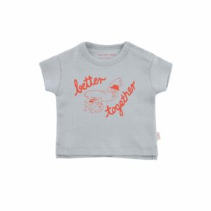 Wijs west Tiny Cottons Tiny Cottons Better Together Baby Tee 8434525175127  Kleding & Accessoires Shirts T-shirts