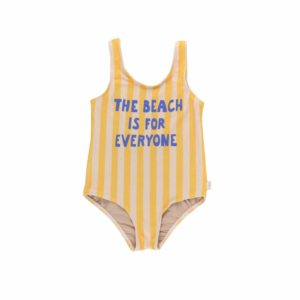 Wijs west Tiny Cottons Tiny Cottons The Beach Is For Everyone Swimsuit 8434525191905  Kleding & Accessoires Zwemkleding Zwempak