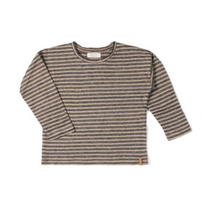 Wijs west Nixnut Nixnut Be Longsleeve Night Stripe 8720053287525 SS21Nixnut Kleding & Accessoires Shirts Longsleeves