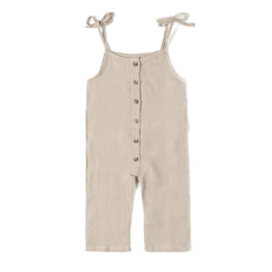 Wijs west Nixnut Nixnut Button Suit Sand 8720053284005 SS21Nixnut Kleding & Accessoires Baby Rompers