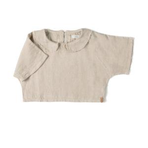 Wijs west Nixnut Nixnut Collar Top Sand 8720053283916 SS21Nixnut Kleding & Accessoires Shirts