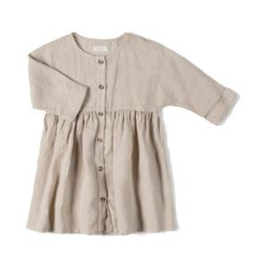 Wijs west Nixnut Nixnut Horn Dress Sand 8720053284098 SS21Nixnut Kleding & Accessoires Rokjes & Jurkjes