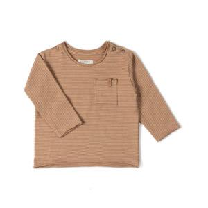 Wijs west Nixnut Nixnut Longsleeve Nude Stripe 8720053286870 SS21Nixnut Kleding & Accessoires Shirts Longsleeves