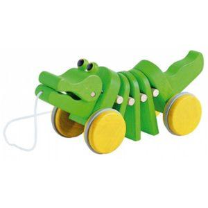 plan toys houten trekspeeltje Dancing Alligator