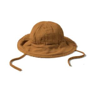 Wijs west Nixnut Nixnut Sun Hat Caramel 8720053283664 SS21Nixnut Kleding & Accessoires Accessoires Hoedjes & Petjes
