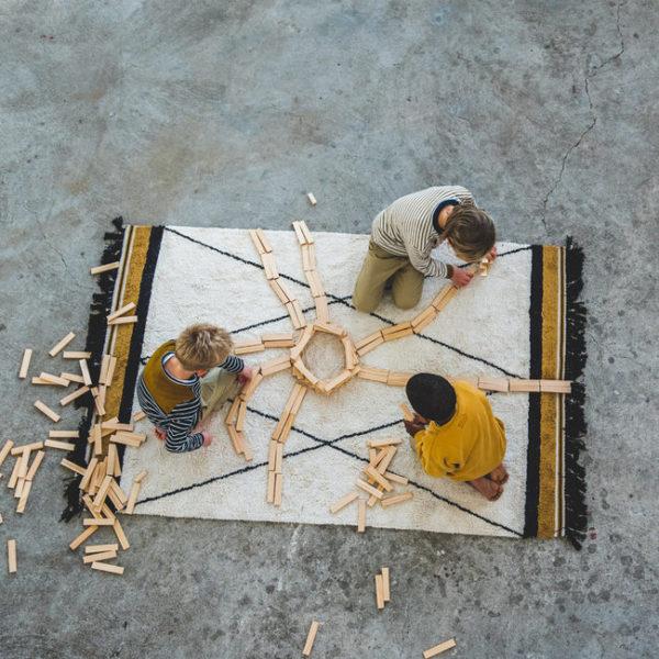 tapis-petit-vloerkleed-etnic-ocher