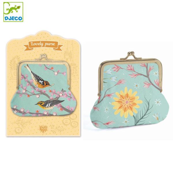 Wijs west Djeco Djeco Lovely Purses - Purse Birds 3070900038639 DjecoFeb Speelgoed & Spellen Spelen