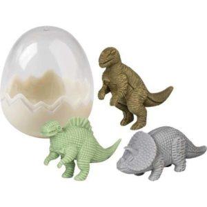 Dino gum 3 stuks in ei
