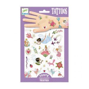 Djeco tattoos fairys