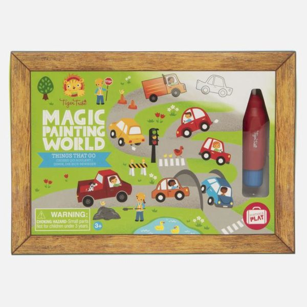 Magic Painting/Things that Go